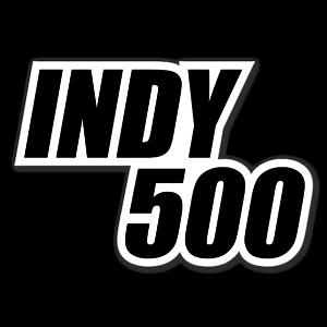 Indy 500 sticker