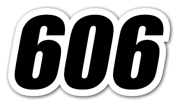 Racing 606 Sticker