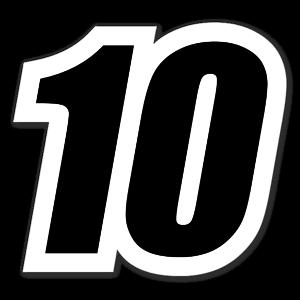 10 sticker