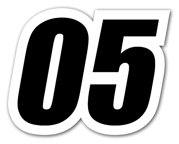 05 racing sticker