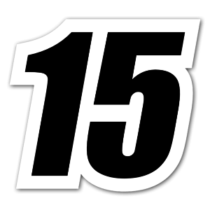Black sticker 15