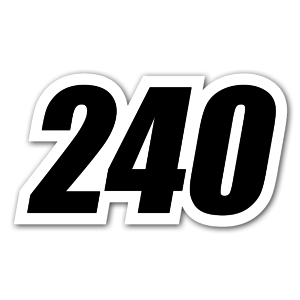 240 sticker