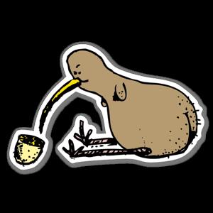 Sexig Röv Kiwi sticker