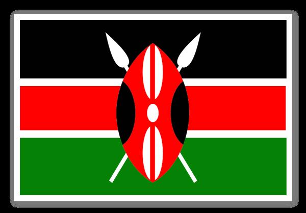 Kenya Klistremerker