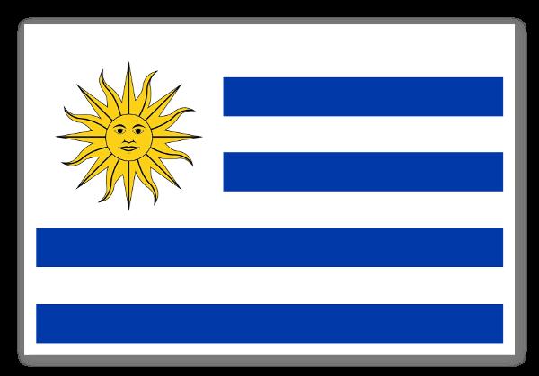 Uruguay Klistremerker