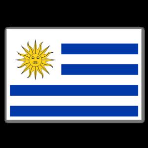 Uruguay Aufkleber