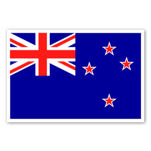 Flag of New Zealand  sticker