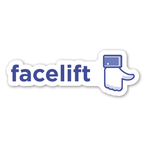 Facelift  sticker