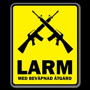 LARM klistermärken sticker