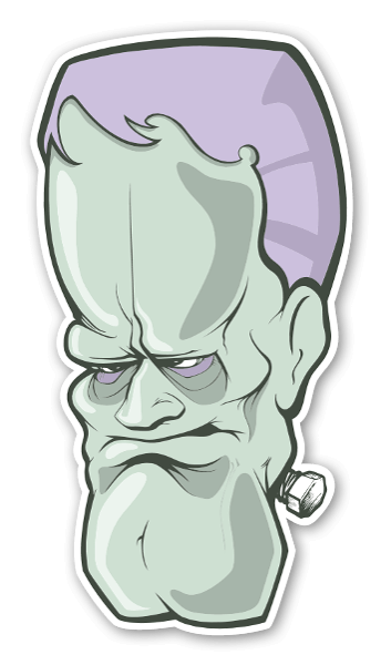 Frankenstein stickers