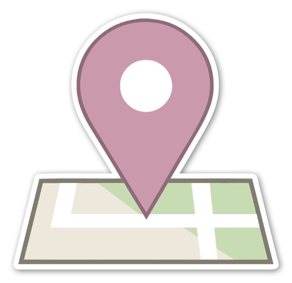 Check in  sticker