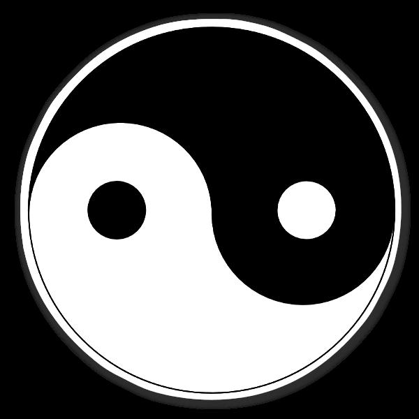 yin und yang stickerapp. Black Bedroom Furniture Sets. Home Design Ideas