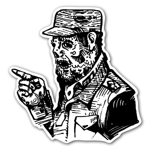 Castro Aufkleber
