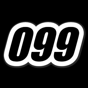 099 sticker