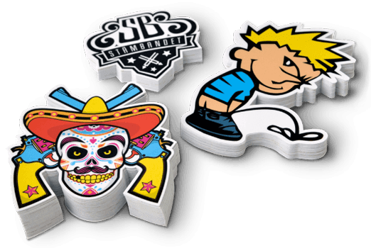 Print Custom Stickers StickerApp - What are custom die cut stickers